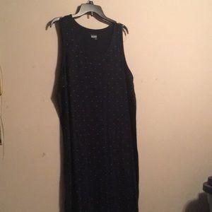 Women's long casual dress